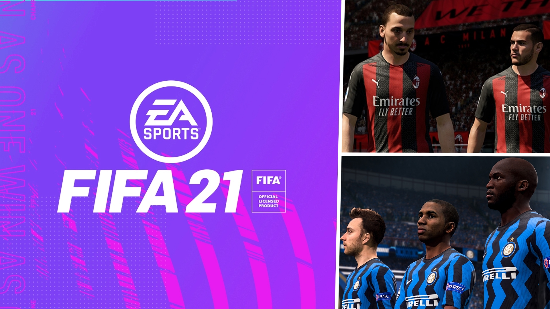 FIFA 21 AC Milan Inter Milan