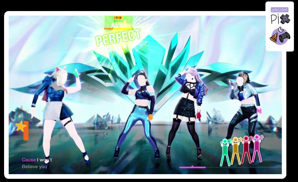 Perfect en canción de Just Dance 2021.