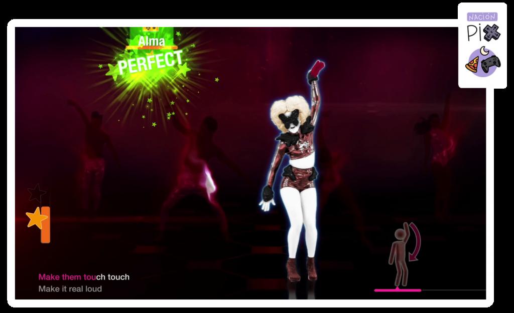 Lady Gaga en Just Dance 2021.
